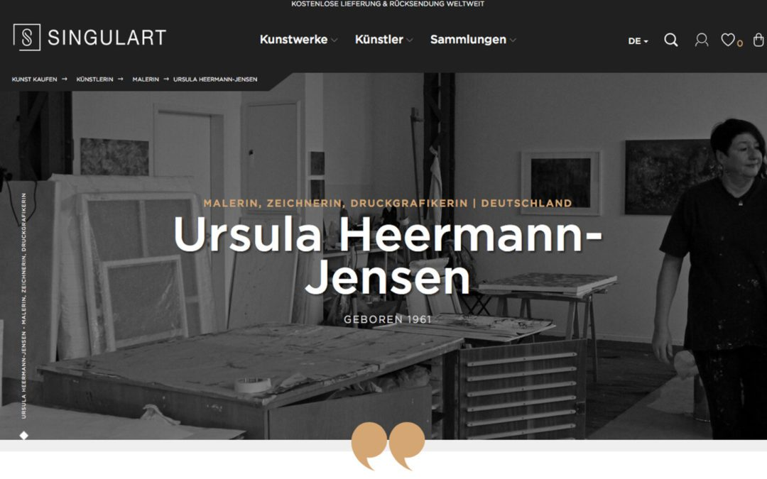 Ursula Heermann-Jensen new at the online gallery Singulart